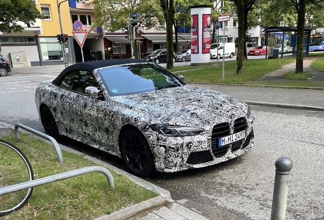 BMW M4 G83 Convertible