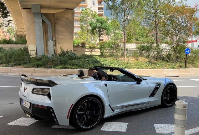 Chevrolet Corvette C7 Grand Sport Convertible Carbon 65 Edition