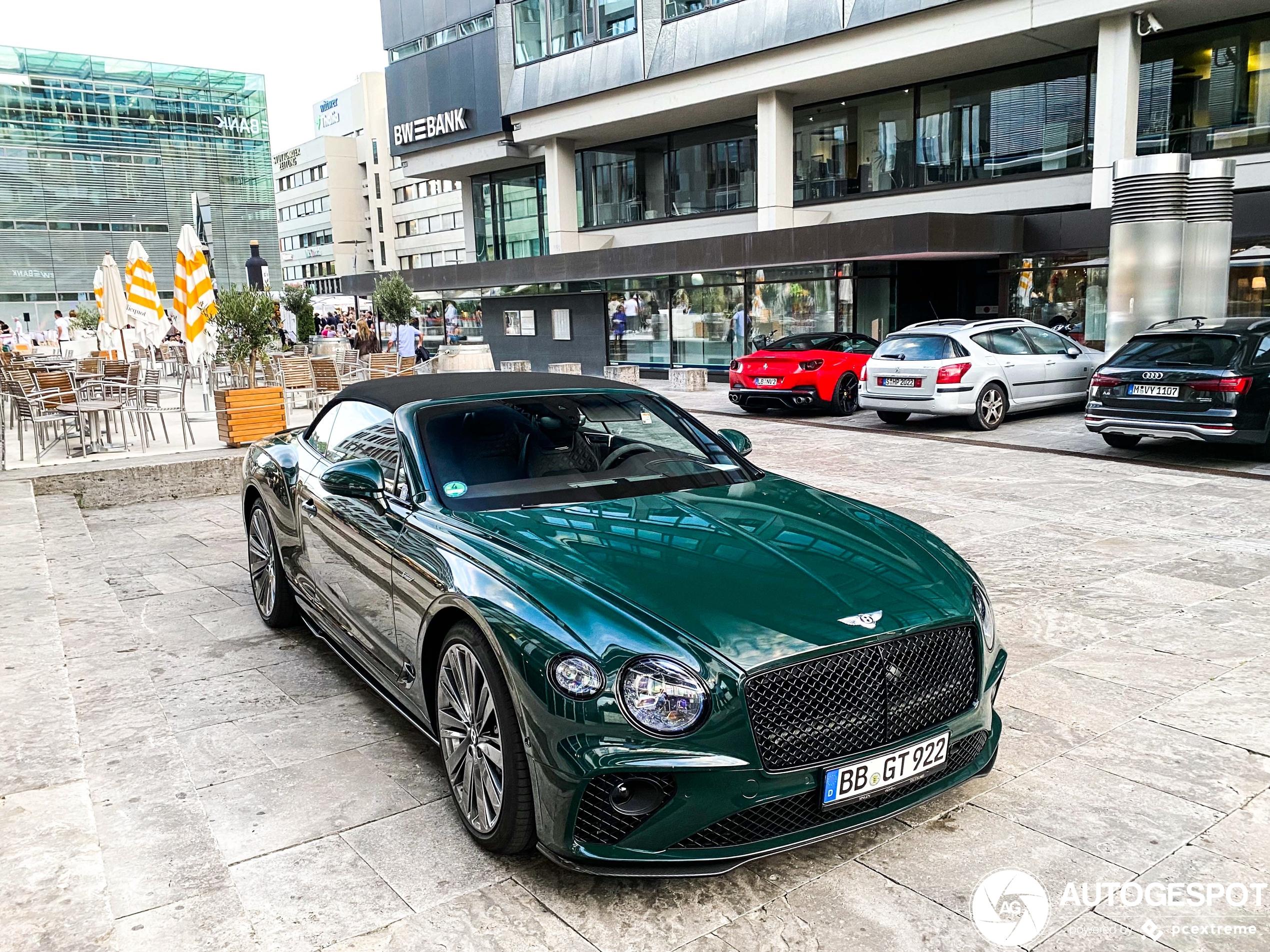 Nieuwe Bentley Continental GTC Speed laat zich weer zien