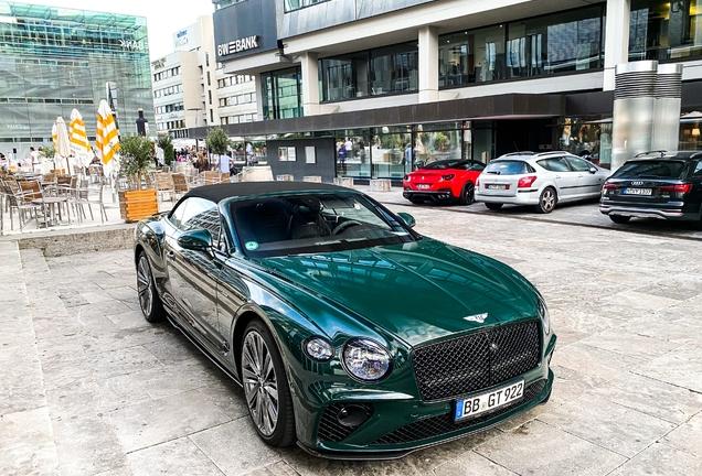 Bentley Continental GTC Speed 2021