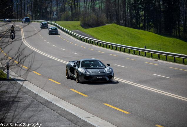 McLaren 12C Spider FAB Design Terso
