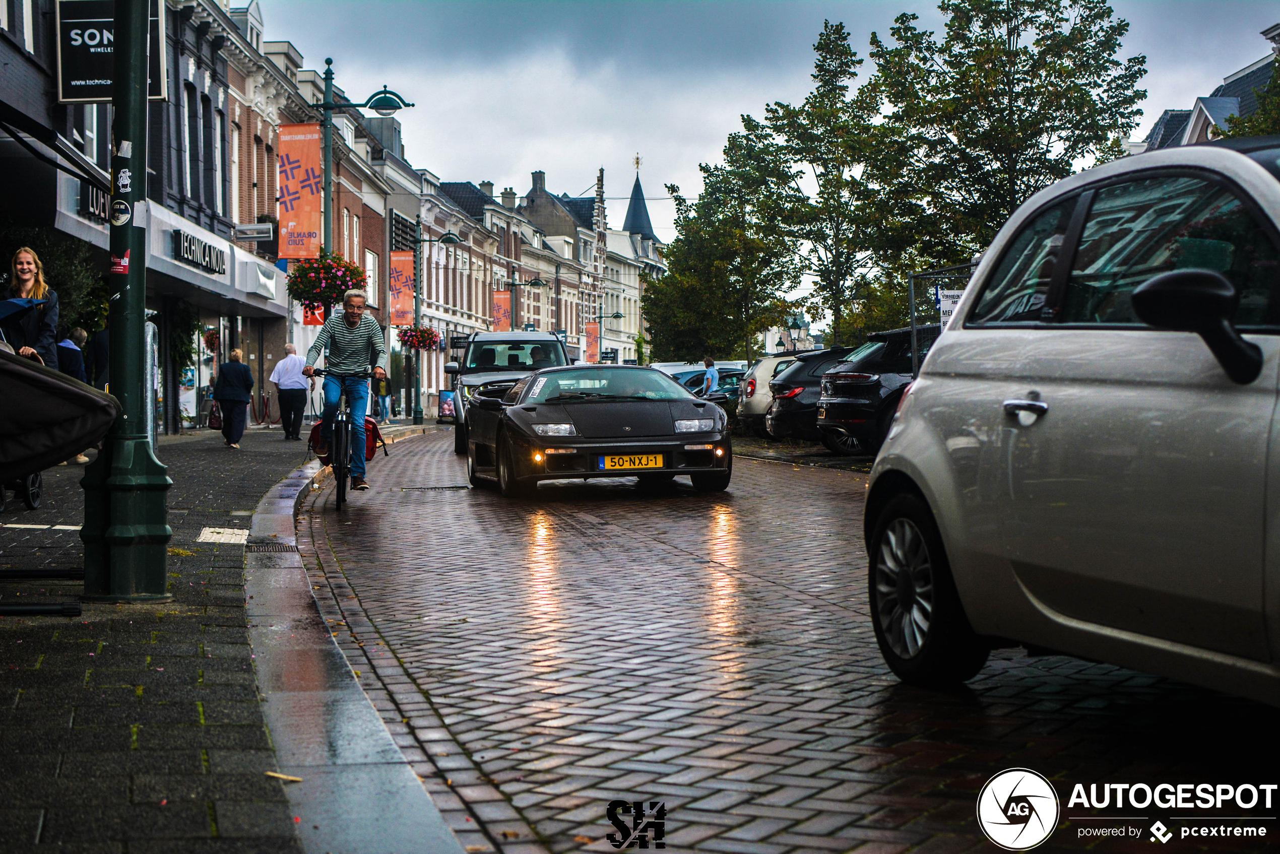 Lamborghini Diablo VT Roadster blijft prachtige verschijning