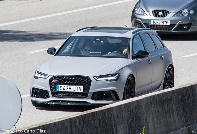 Audi RS6 Avant C7 2015 Maxton Design