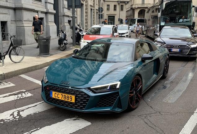 Audi R8 V10 Performance 2019 Green Hell Edition