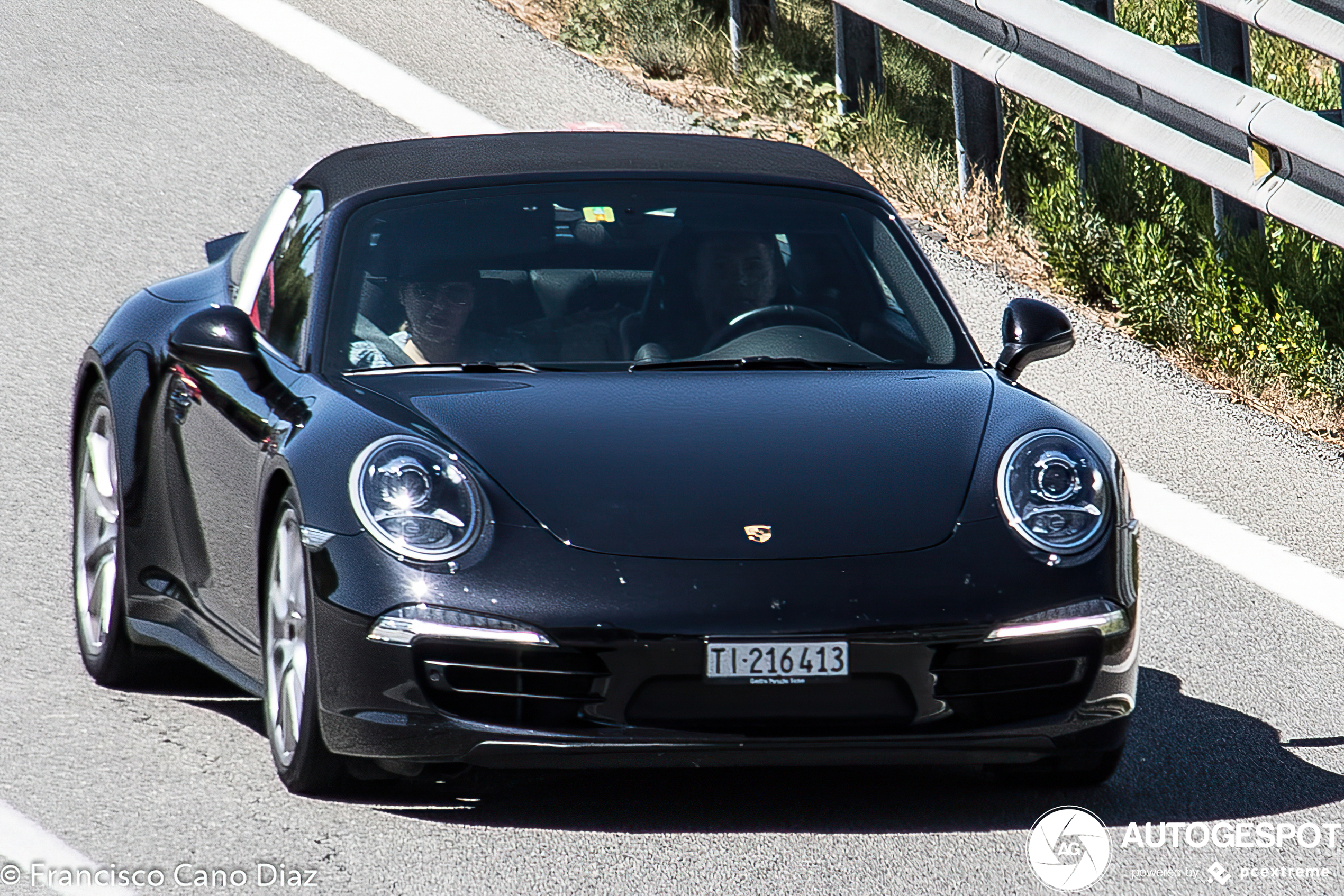 Porsche 991 Targa 4S
