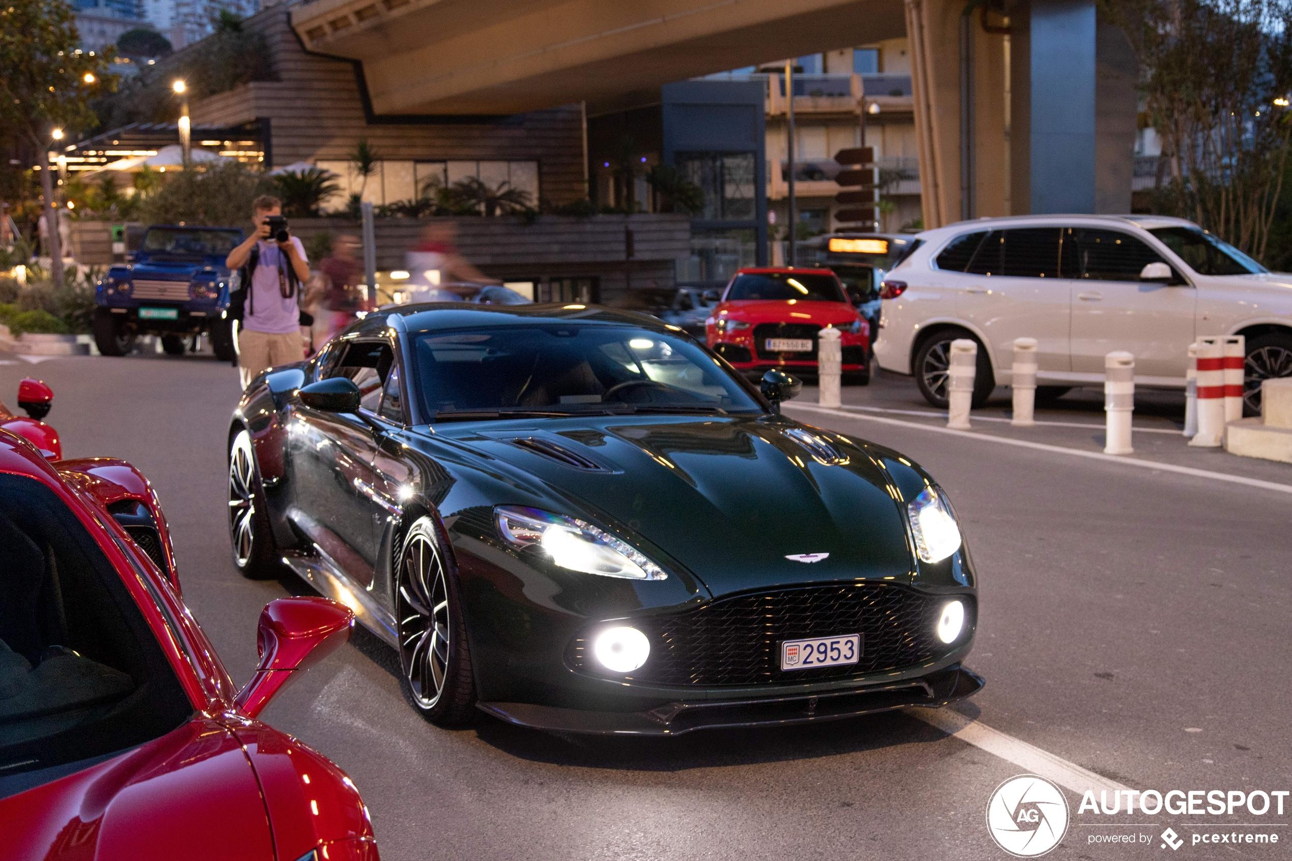 Aston MartinVanquish Zagato