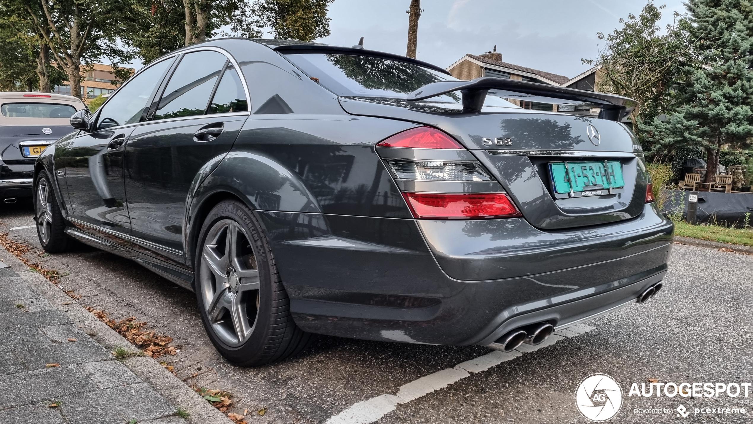 Mercedes-Benz S 63 AMG gaat door geluidsbarrière met deze spoiler