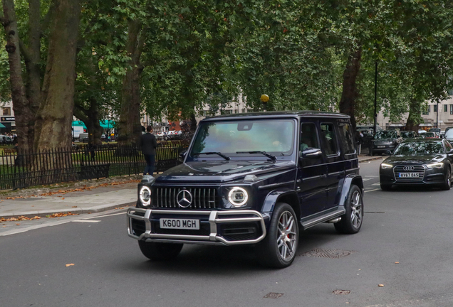 Mercedes-AMG G 63 W463 2018 Stronger Than Time Edition
