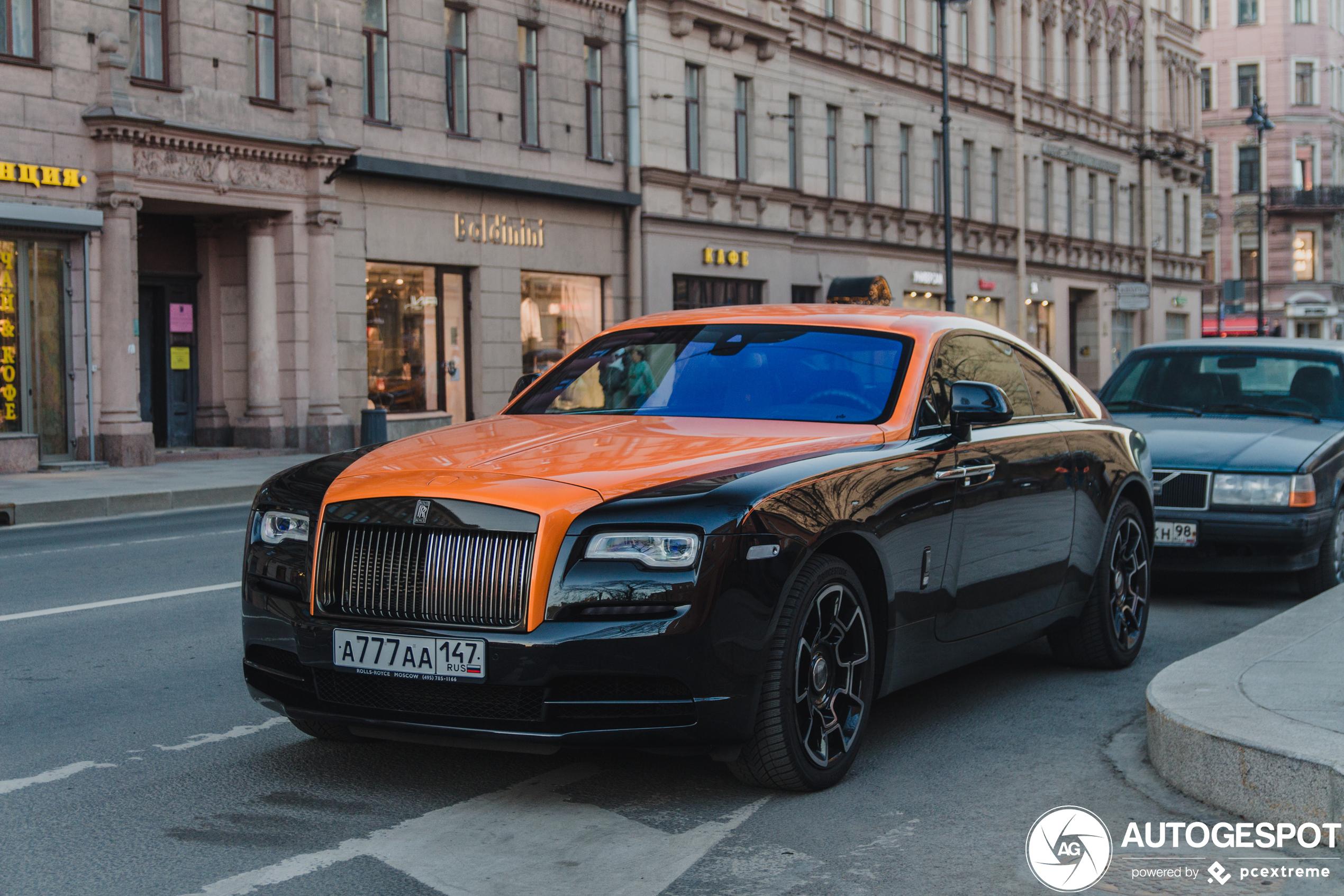 Rolls-RoyceWraith Black Badge