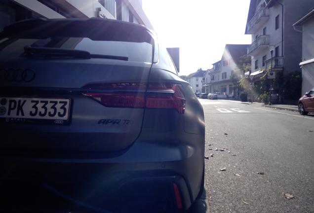 Audi RS6 Avant C8 APR 720