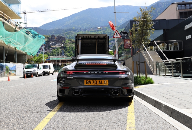 Porsche 992 Turbo S Cabriolet