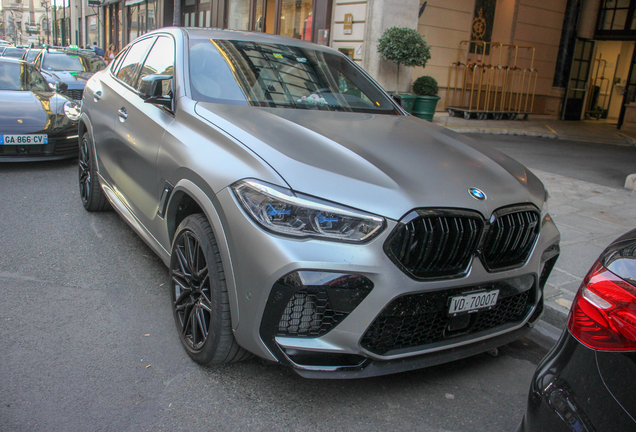 BMW X6 M F96 Competition First Edition