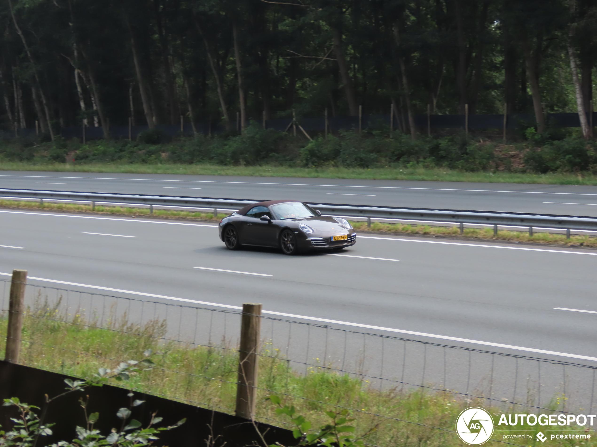 Porsche 991 Carrera 4S Cabriolet