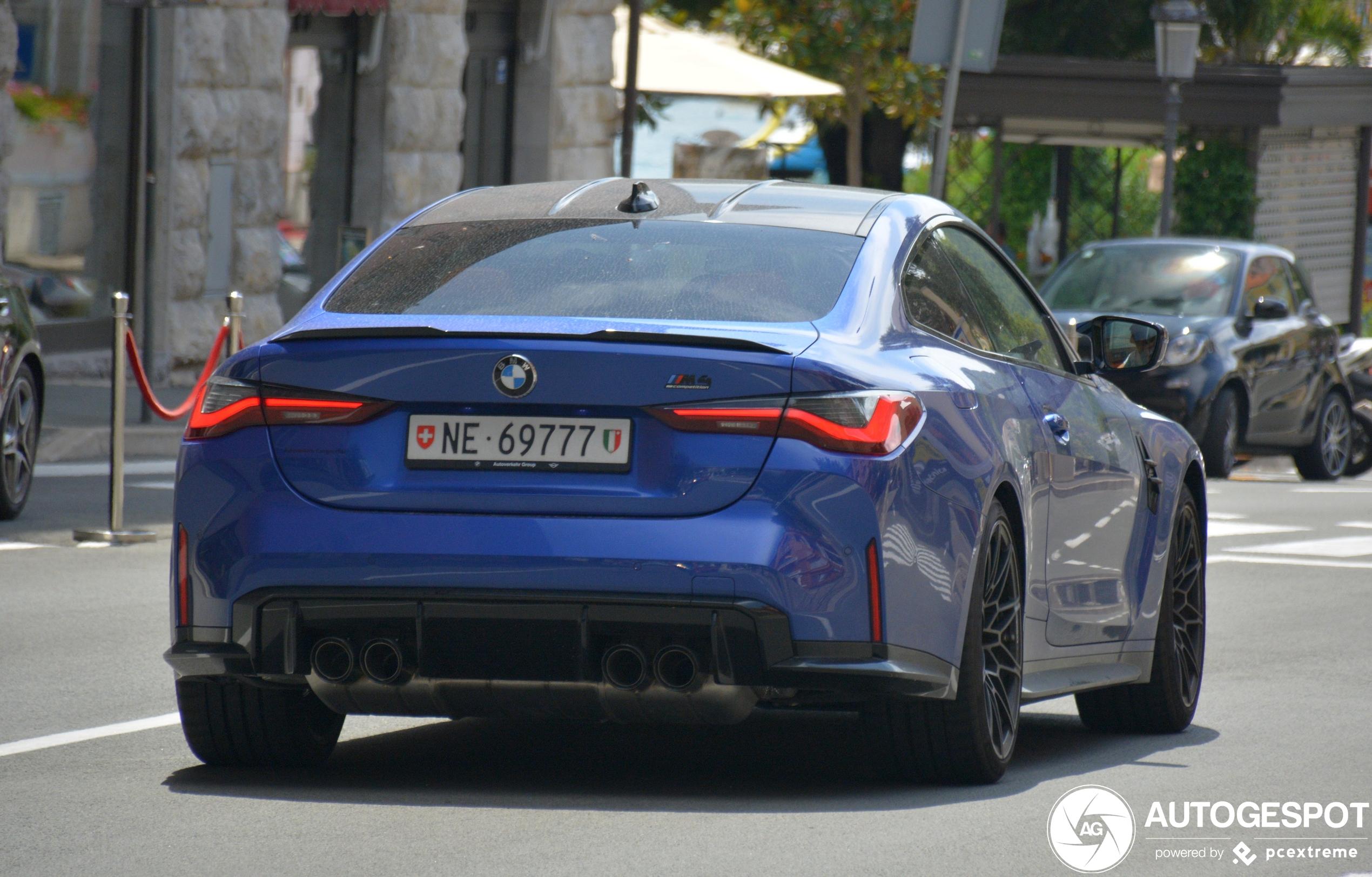BMWM4 G82 Coupé Competition