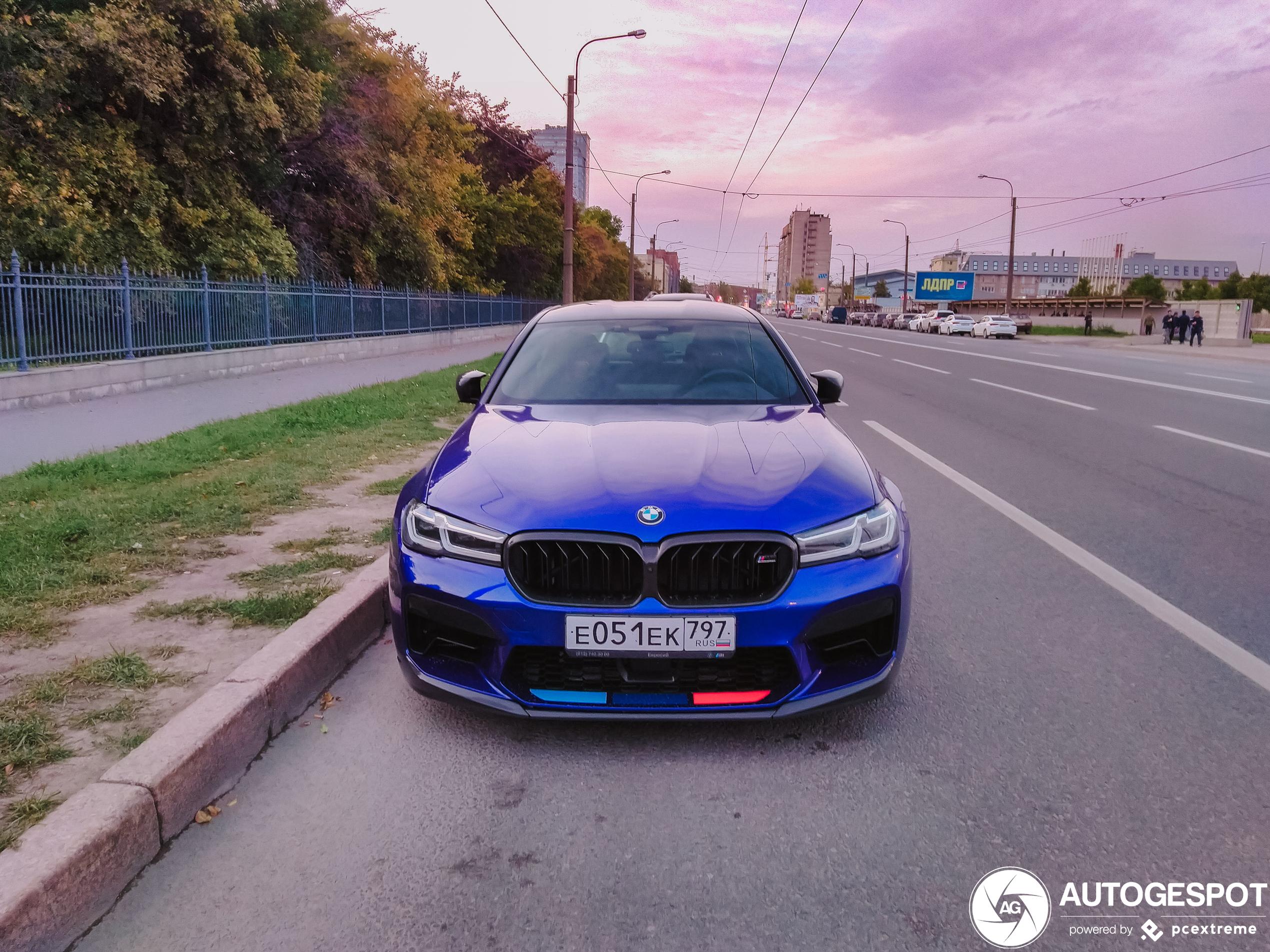 BMWM5 F90 Competition 2021
