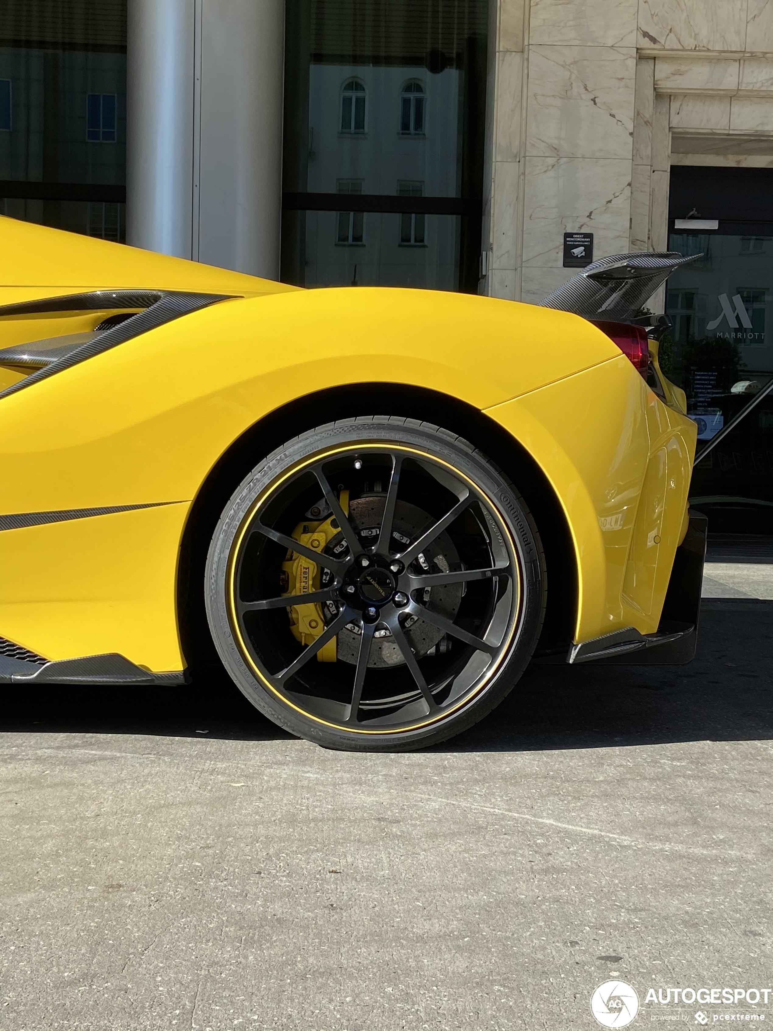 Ferrari488 Spider Mansory Siracusa 4XX