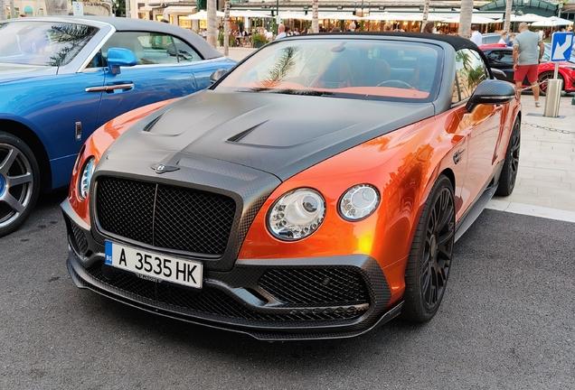 Bentley Mansory Continental GTC 2016