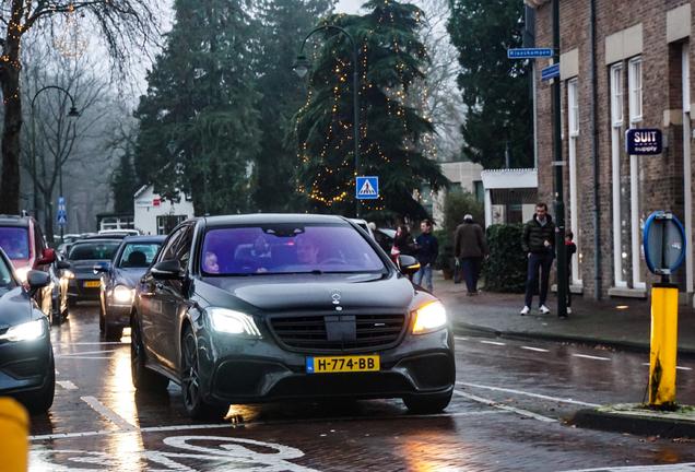 Mercedes-AMG S 65 V222 2017