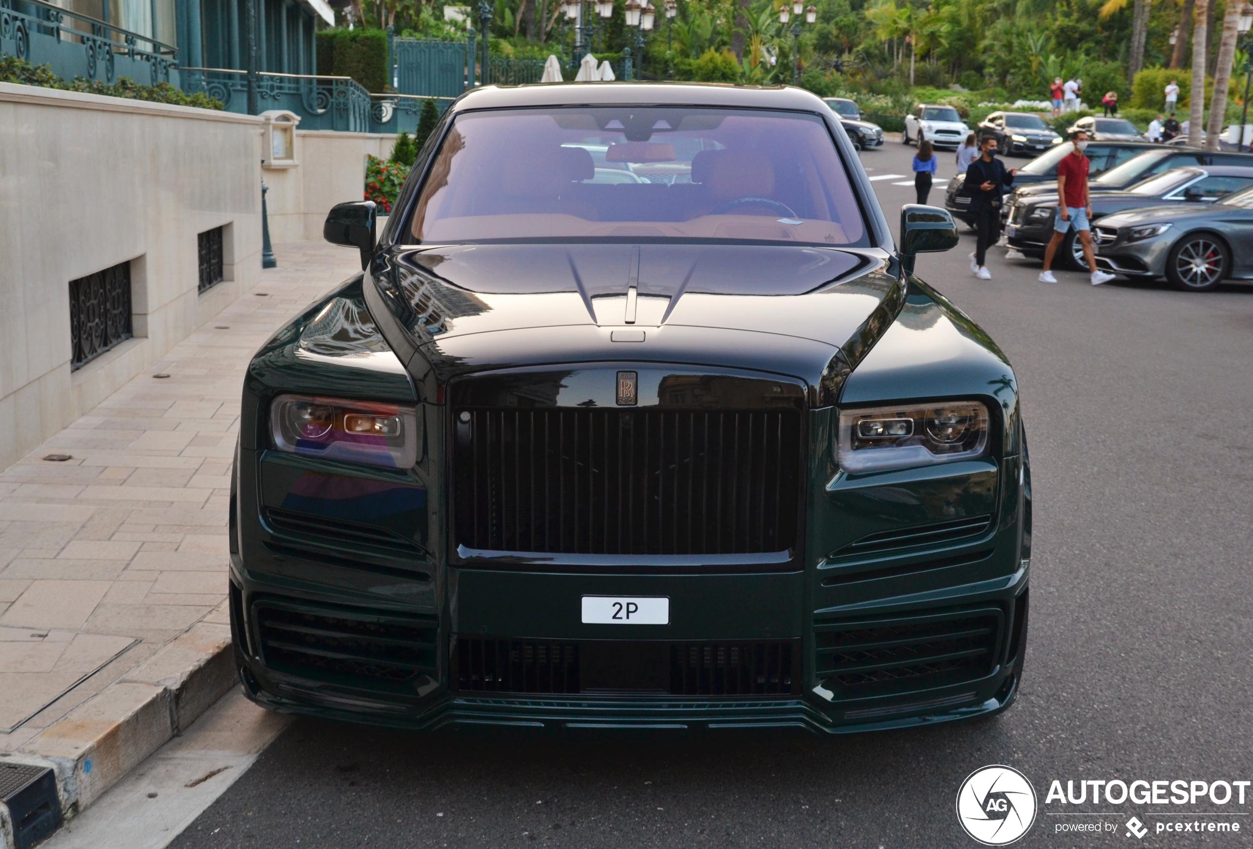 Kan het dikker? Rolls-Royce Cullinan Mansory Wide Body