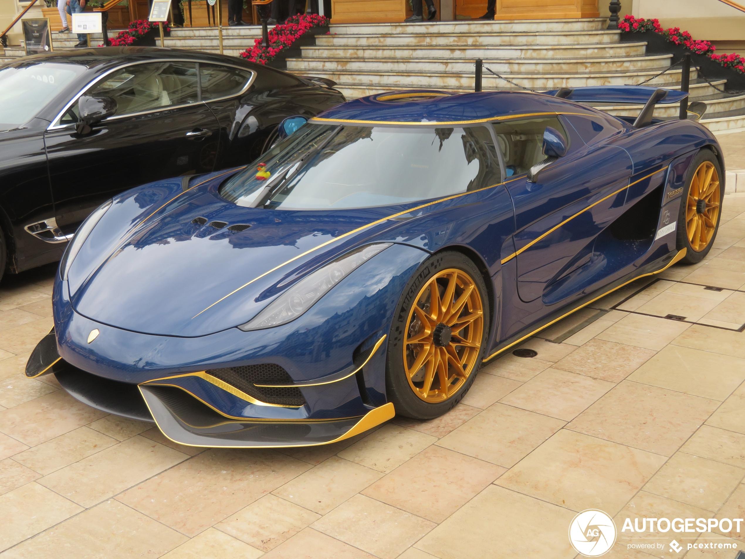 Koenigsegg Regera is worth the most in Monaco Casino Square