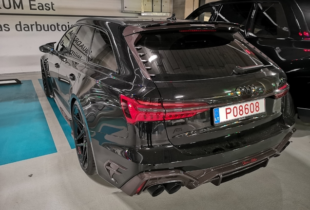 Audi ABT RS6 Avant C8 Johann Abt Signature Edition