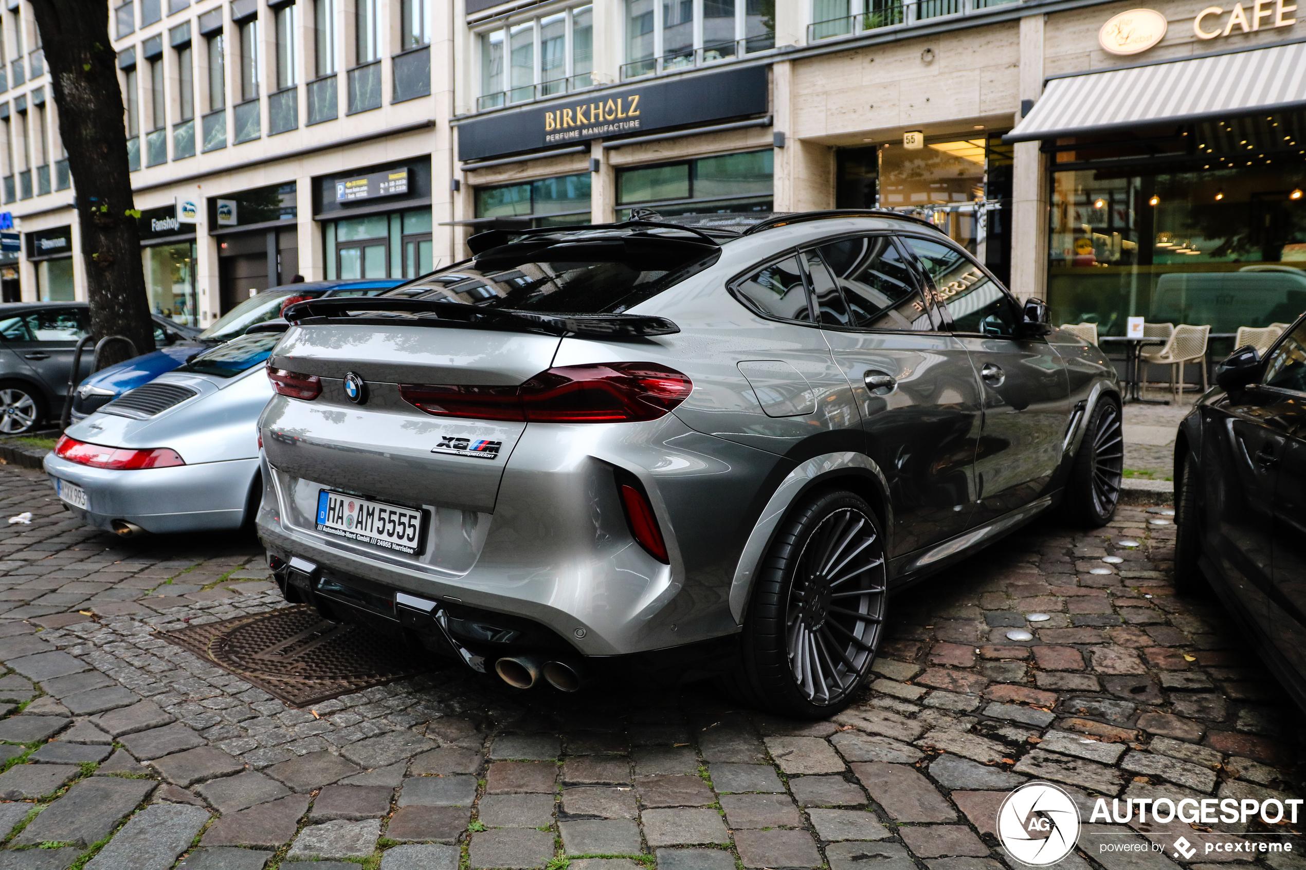Primeur gespot: BMW Hamann X6 M Competition