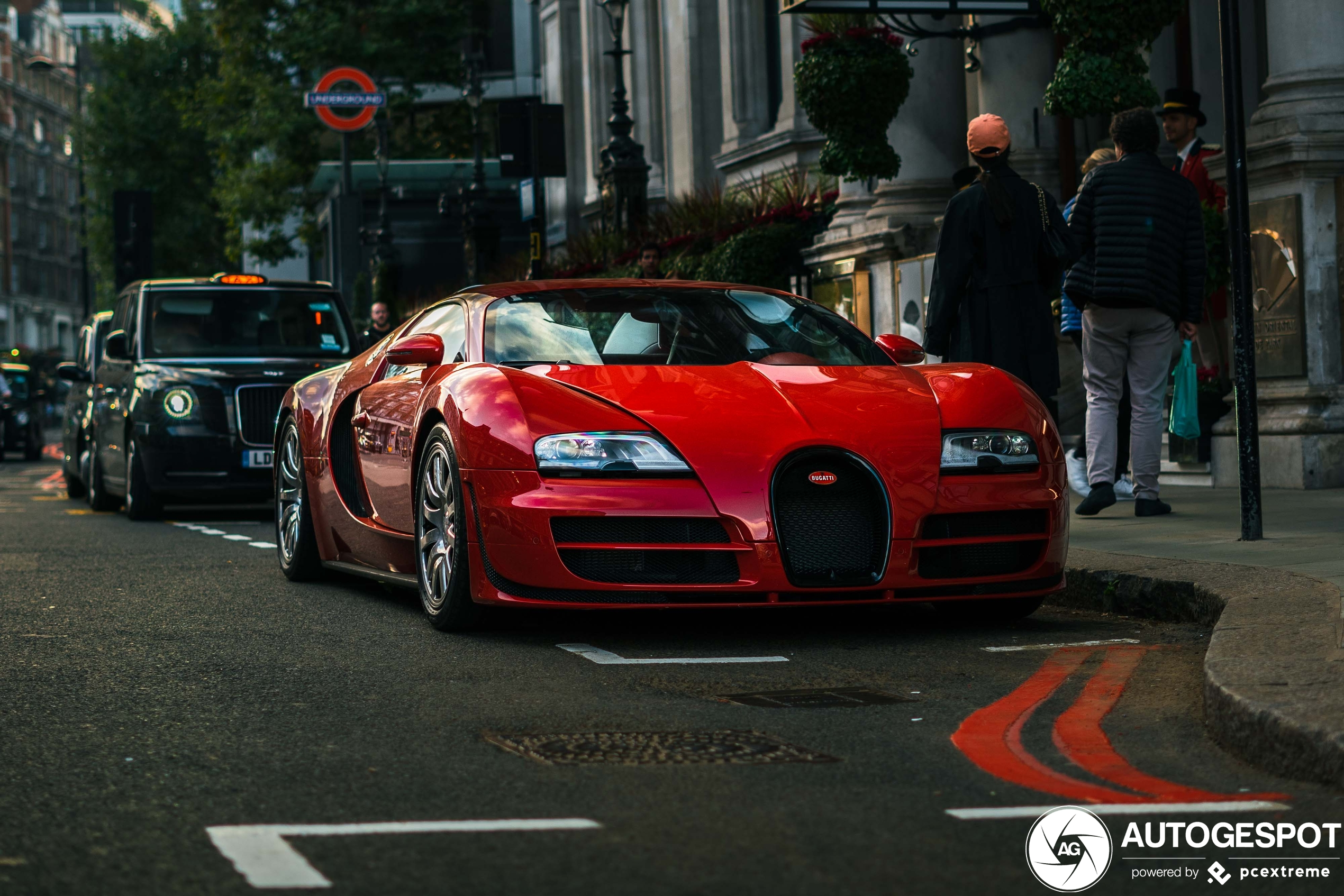 Londen verwelkomt nieuwe Bugatti Veyron 16.4