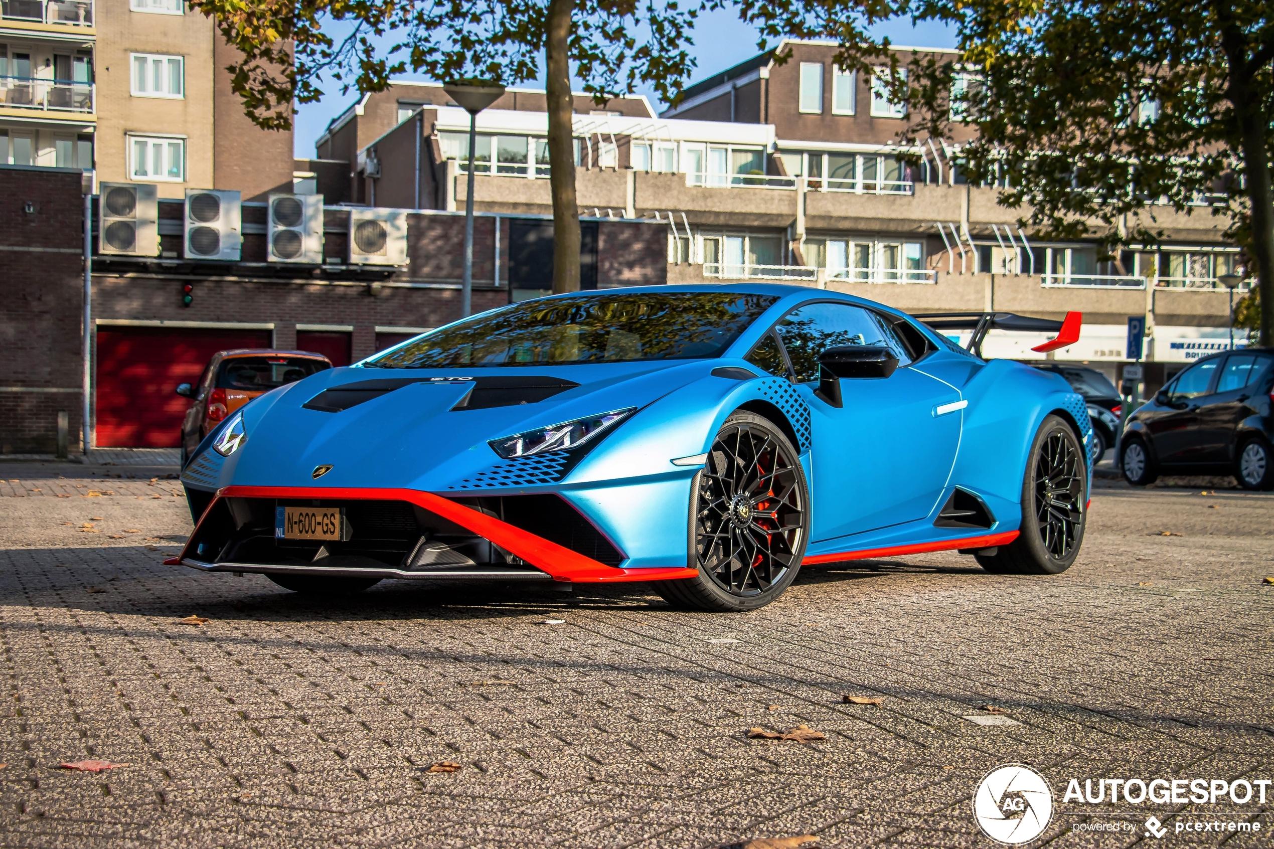 Lekker heftig: nieuwe Lamborghini Huracán LP640-2 STO in Nederland
