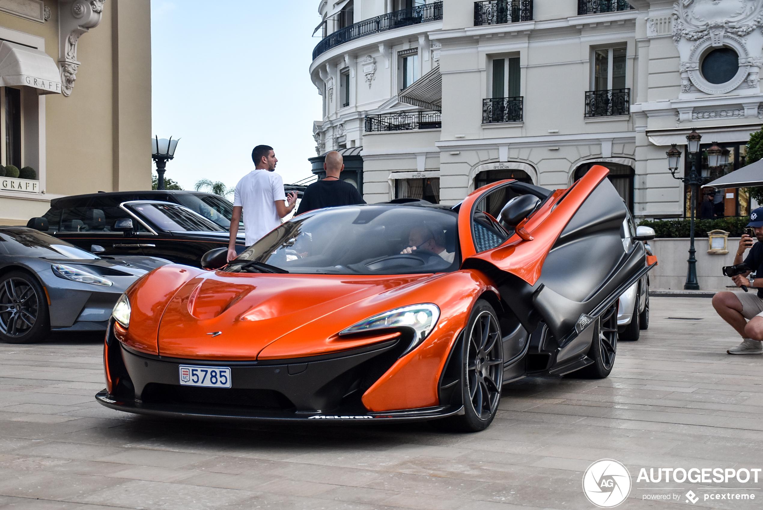McLaren P1 is perfect samengesteld