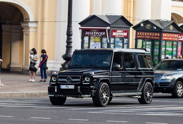 Mercedes-AMG Brabus G 63 2016 Extended Wheelbase