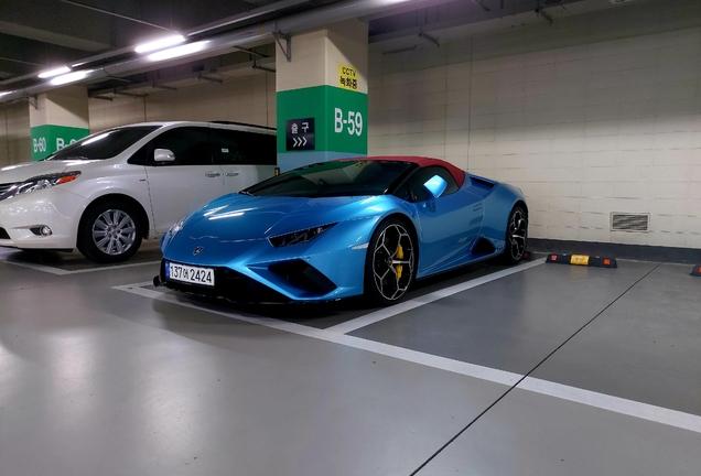 Lamborghini Huracán LP610-2 EVO RWD Spyder