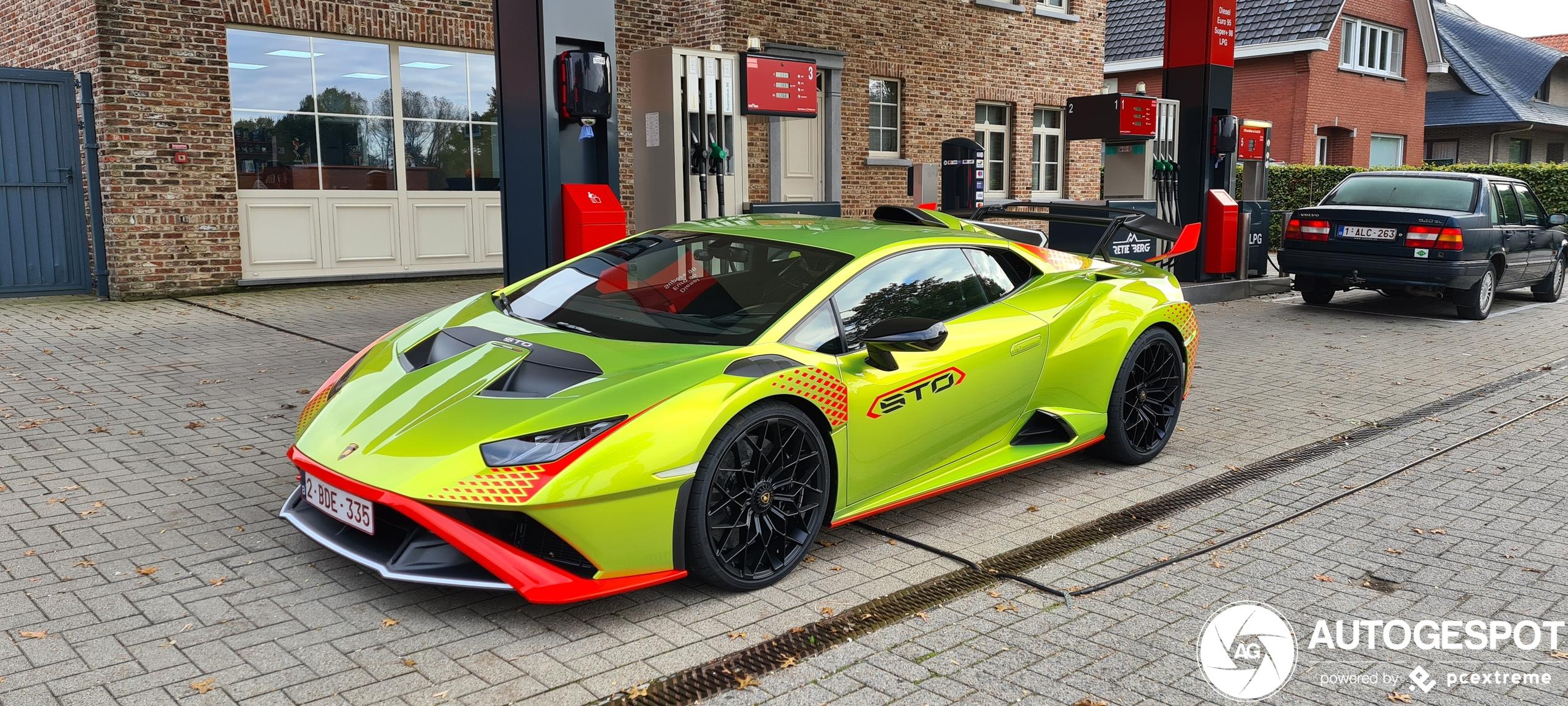 U kijkt naar de eerste Lamborghini Huracán LP640-2 STO van België