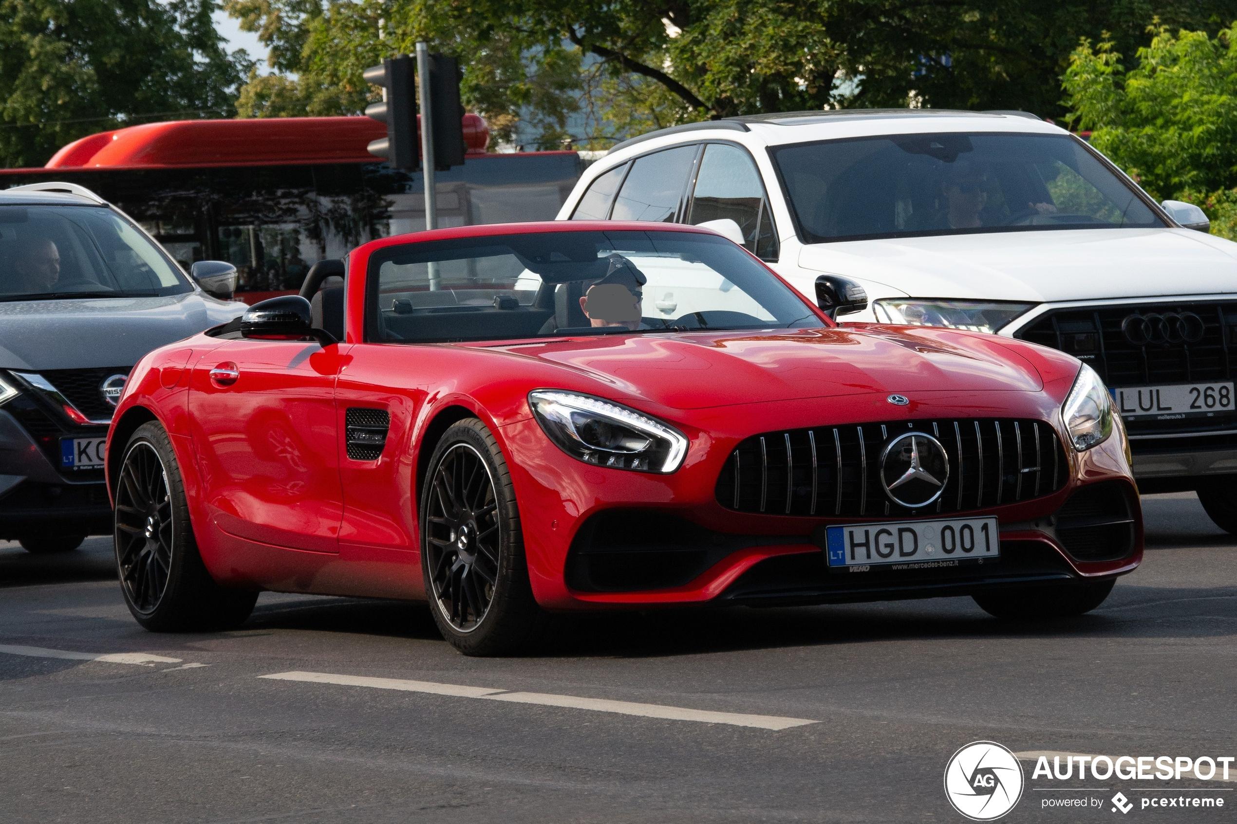 Mercedes-AMGGT Roadster R190