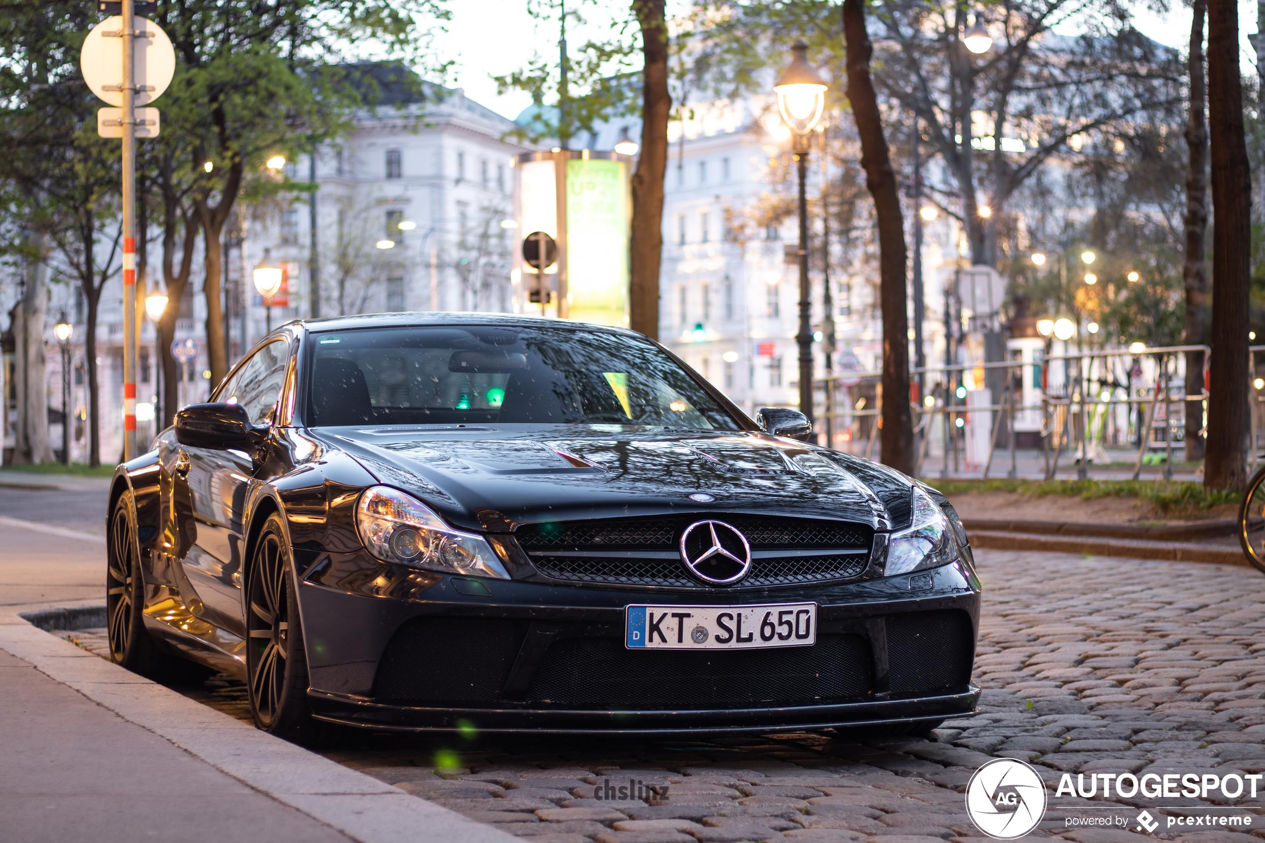 Monsterlijk breed: Mercedes-Benz SL 65 AMG Black Series