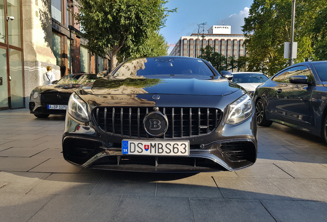 Mercedes-AMG Brabus S B40S-800 Coupe C217