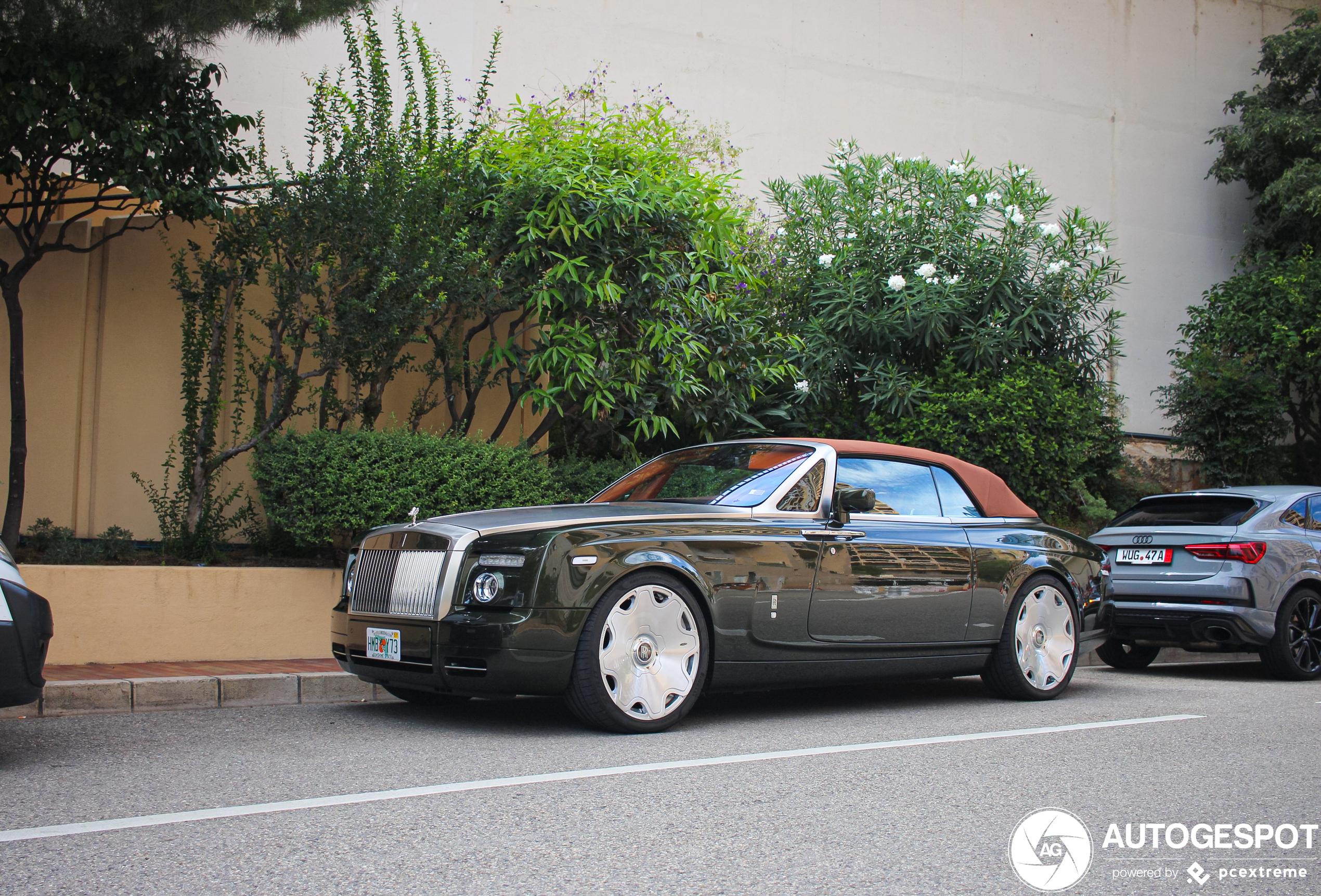 Op z'n Amerikaans: Rolls-Royce Phantom Drophead Coupé