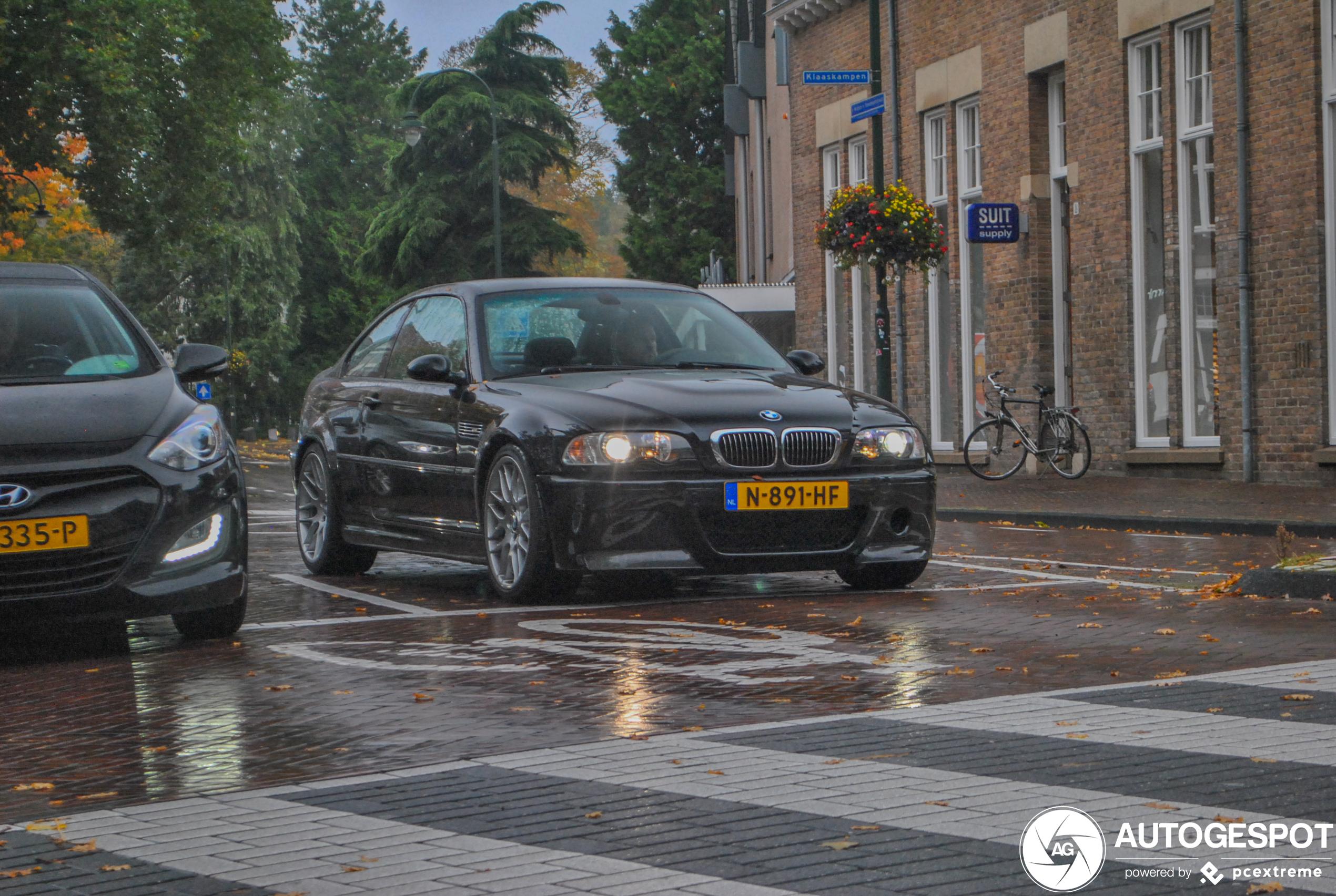 Vers op kenteken: BMW M3 E46 CSL
