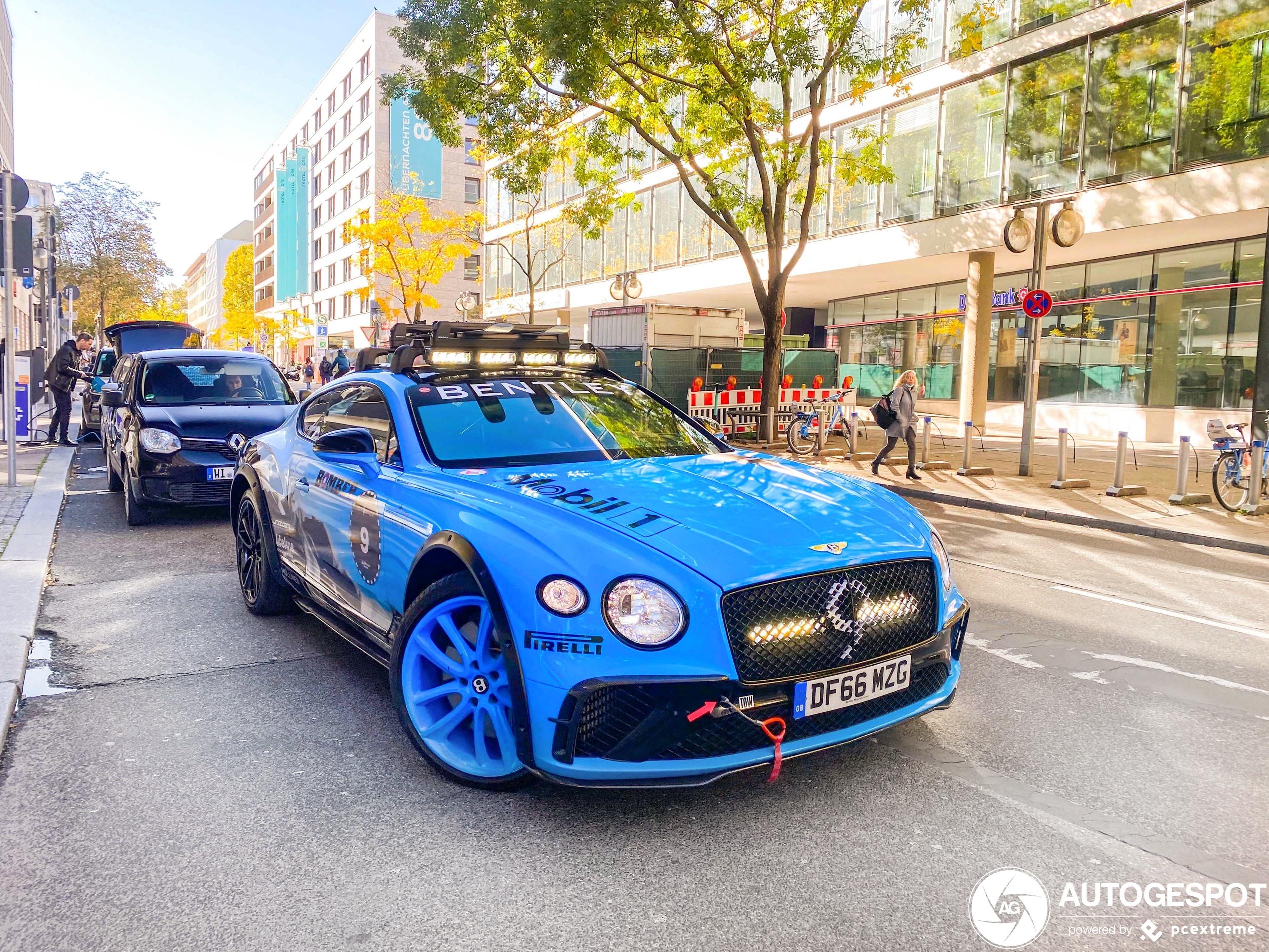 BentleyContinental GT GP Ice