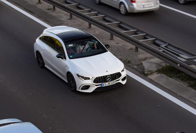 Mercedes-AMG CLA 45 S Shooting Brake X118