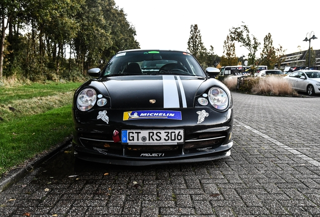 Porsche 996 GT3 R Edo Competition