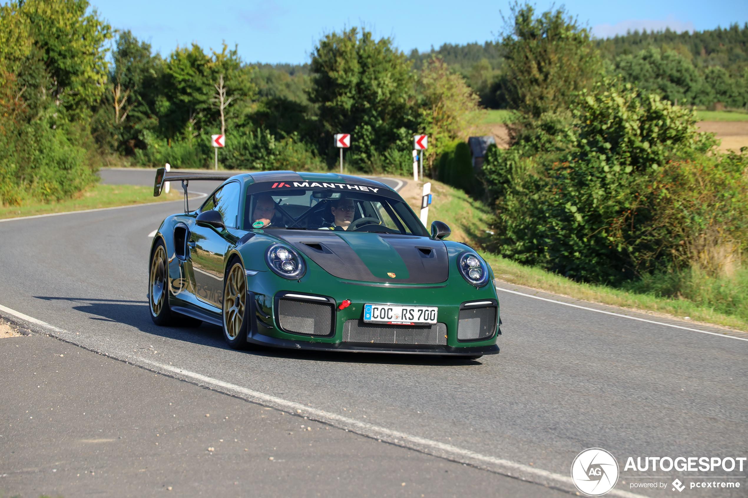 PorscheManthey Racing 991 GT2 RS MR