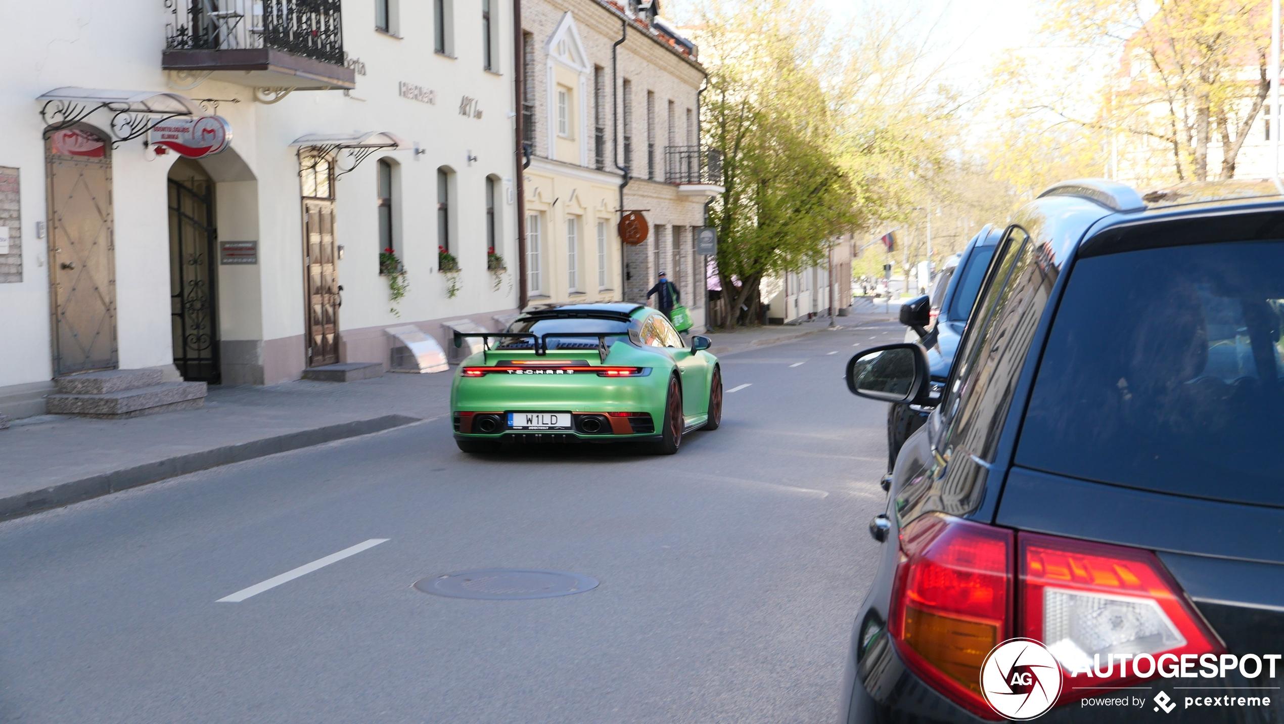 Porsche992 Techart Carrera S